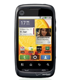 Motorola Wx455 Citrus Android CDMA (VERIZON) - Click Image to Close