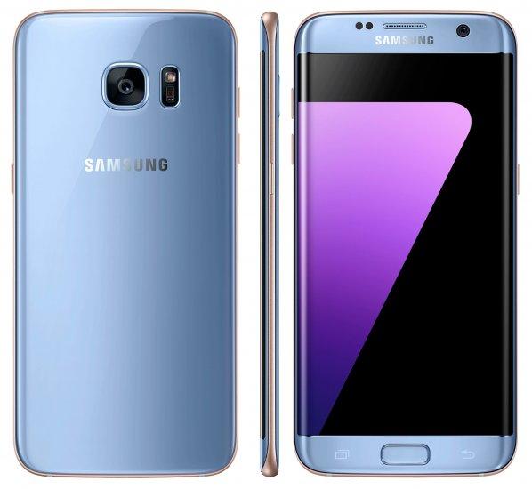 ebfdb0dc233 Samsung Galaxy S7 edge - 32 GB - Blue Coral - Unlocked - GSM  SM ...