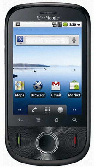 T-Mobile Comet Huawei U8150 Gsm Un-locked Touch wifi +2Gb Card