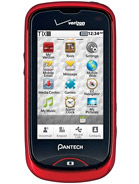 Pantech Hotshot CDM8992 Smart Phone - Red - Verizon Wireless