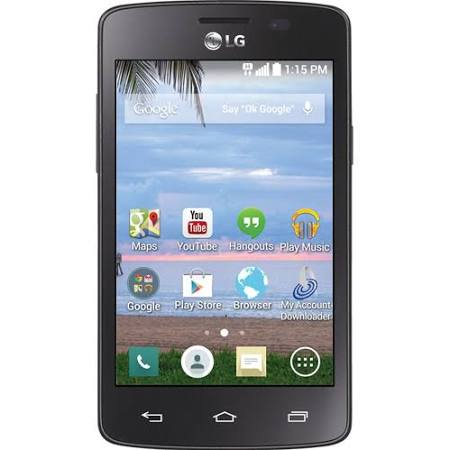 Straight Talk LG L15G Prepaid Sunrise Android Smartphone