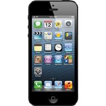 Apple iPhone 5 (GSM Un-locked) - Black 16 GB
