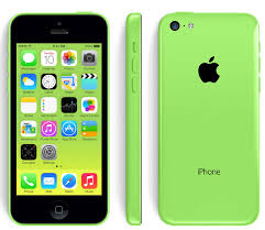 Apple iPhone 5c (GSM Un-locked) - Green 16 GB